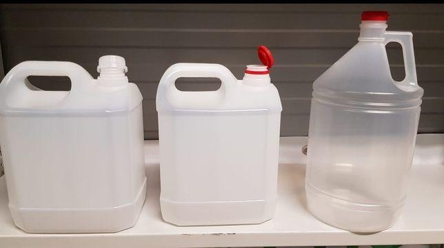 Vende-se Embalagens/ Jerricans/ Garrafões plástico