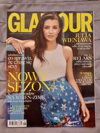 Glamour Nr 08 (171) Sierpień 2017 - Julia Wieniawa