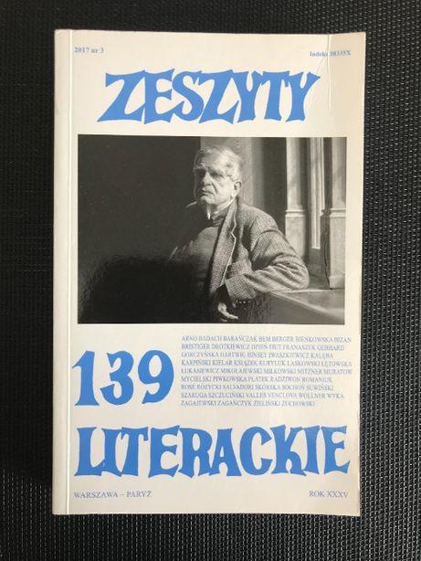 Zeszyty literackie 139 | Jesień 2017