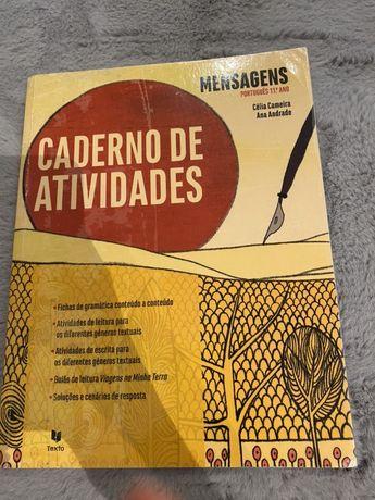 Caderno de portugues mensagem 11 ano