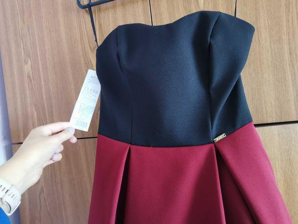 Asymetryczna sukienka r.S/M