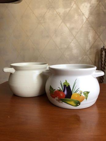 Посуда огнеупорная для духовки горшочки