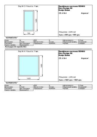 Продам готовые окна и двери, по очень низкой цене ! REHAU Euro 60