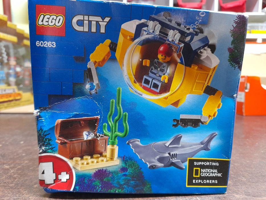 LEGO CITY Oceaniczna miniłódź podwodna 60263 Sułkowice - image 1