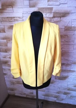 Bluzka żółta Żakiet marynarka ORSAY r 38 M