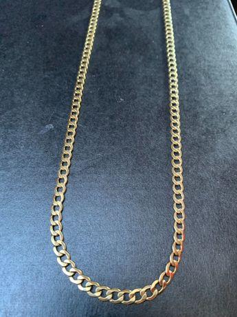 Łańcuszek złoty 585 waga 8.8g