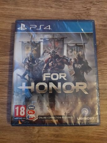 Gra PlayStation 4 FOR HONOR PL PS4 Nowa w folii