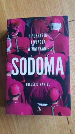 Książka Sodoma. Hipokryzja i władza w Watykanie.  Frédéric Martel