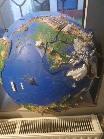 Bardzo Duży  globus plus gazetki
