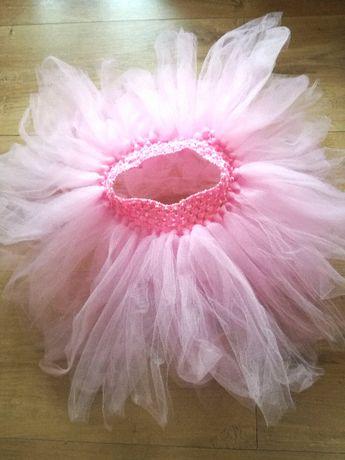 Spódniczka tiulowa różowa