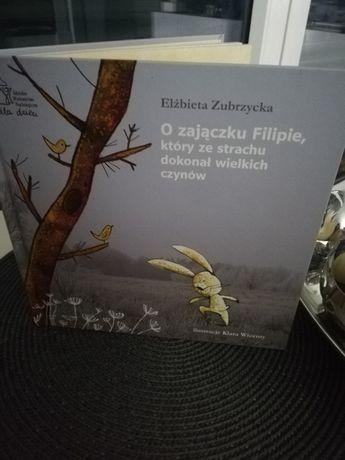 E.Zubrzycka O zajączku Filipie, który ze strachu dokonał wielkich czyn