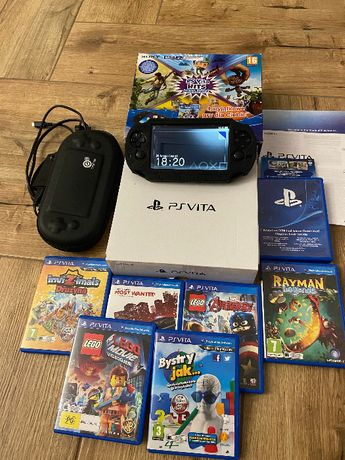 Konsola SONY PS VITA - PlayStation Vita 11 GIER stan IDEALNY!