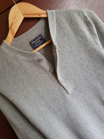 Sweter bluza męska młodzieżowa Abercrombie&Fitch rozm. XS-S 34/36
