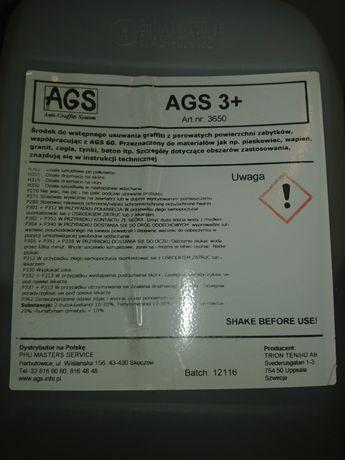 Zestaw do usuwania graffiti AGS 60 i AGS 3+ - WARTOŚĆ NOWEGO ok 740zł!