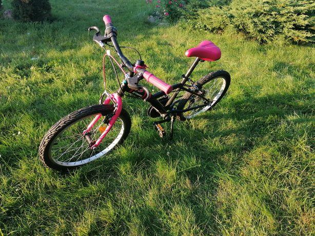 """Rower górski 20"""" Btwin dziewczęcy"""