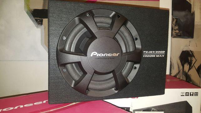 Pioneer TS-WX306B skrzynia basowa głośnik 30cm 1300W NOWY Najtaniej!!!