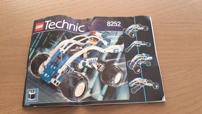 Lego technic instrukcja 8252
