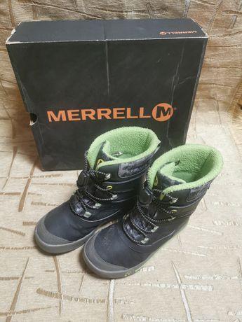 Зимние ботинки Merrell 20 см стелька, 31 р