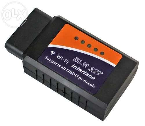 Ficha ligação obd 2 WIFI para Iphone obd ii obd2 elm 327 elm327