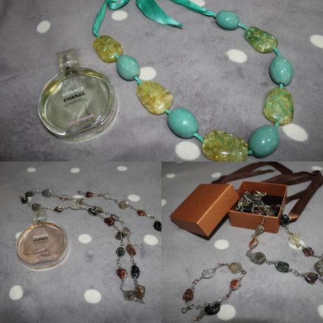 Бижутерия из камней (колье, ожерелье)