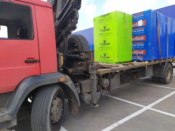 Газоблок Баугут (Стоунлайт) газобетон піноблок пеноблок доставка