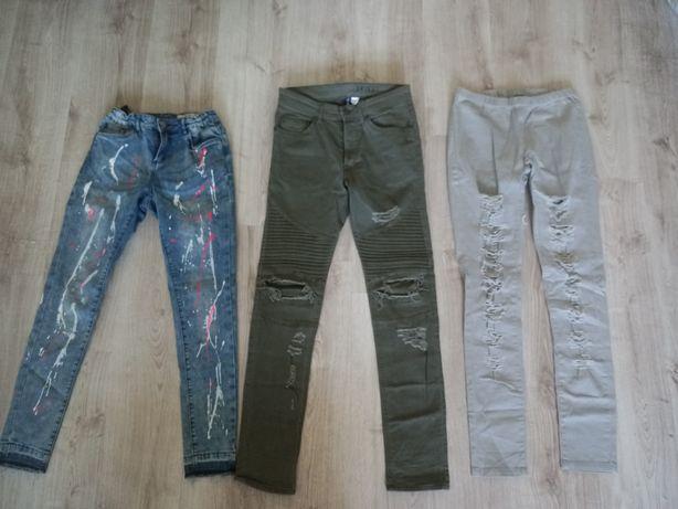 Spodnie rurki rozmiar s