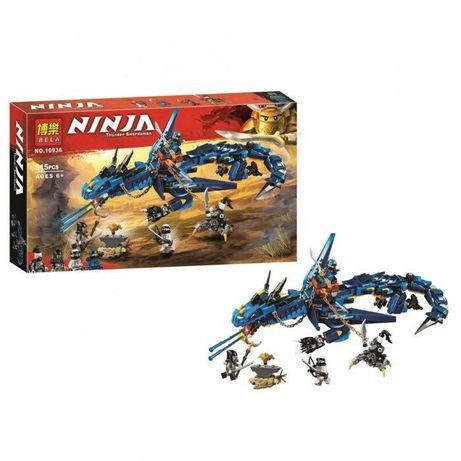 Конструктор Bela 10936 Ninjago 70652 Вестник бури 528 дет Lego лего