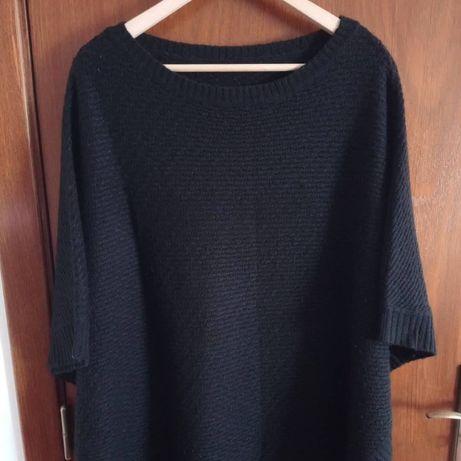 Camisola/capa preta