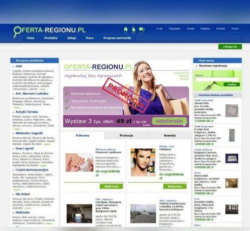 Portal serwis ogłoszeniowy - system zarządzania