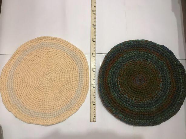 Продам новые вязаные ручной работы коврики и дорожка