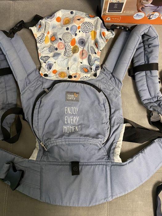 Эрго рюкзак, переноска, слинг, кенгуру Love and Carry Днепр - изображение 1