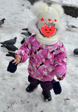 Зимний  комбинезон Lenne