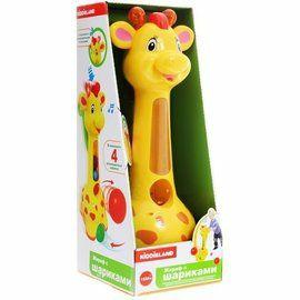 Іграшка-каталка Чепурна Жирафа Kiddieland