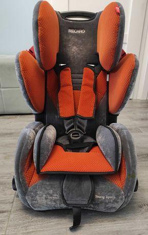 Fotelik Samochodowy, Recaro Young Sport 9 - 36 kg