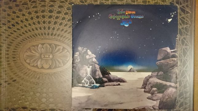 YES, Tales From Topographic Oceans, US, Jan 1974, bdb-
