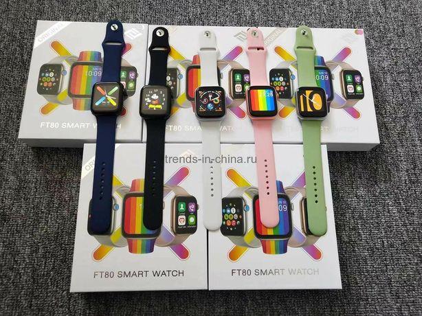 Smart watch FT80 смарт часы фитнес