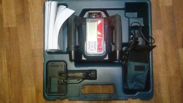 Ротационный лазерный нивелир Bosch GRL 500 HV + LR 50 + рейка