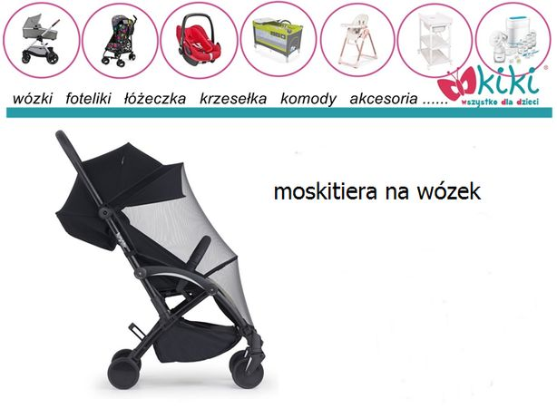 moskitiera na wózek spacerowy Bumprider Connect