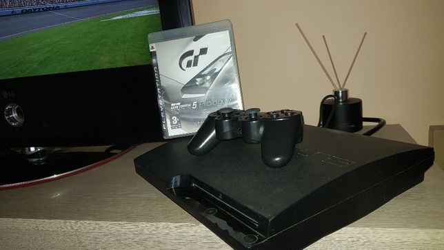 Ps3 + Nowy Pad + Gry