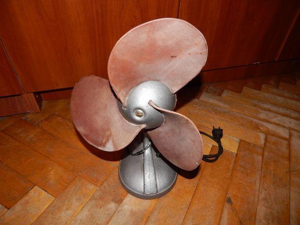 Вентилятор электрический, ретро. СССР.
