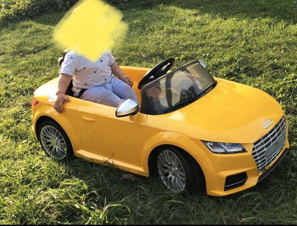 детский электроавтомобиль машина audi tts