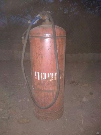 Газовый баллон с горелкой