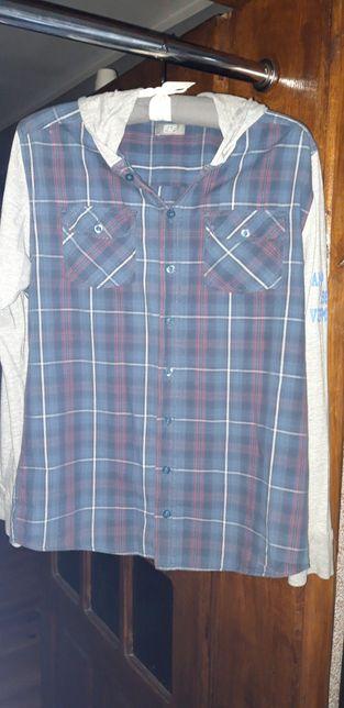 Koszula/Bluza z kapturem F&F