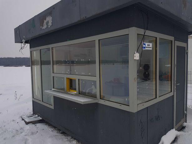 pawilon biurowy kiosk z klimatyzacja