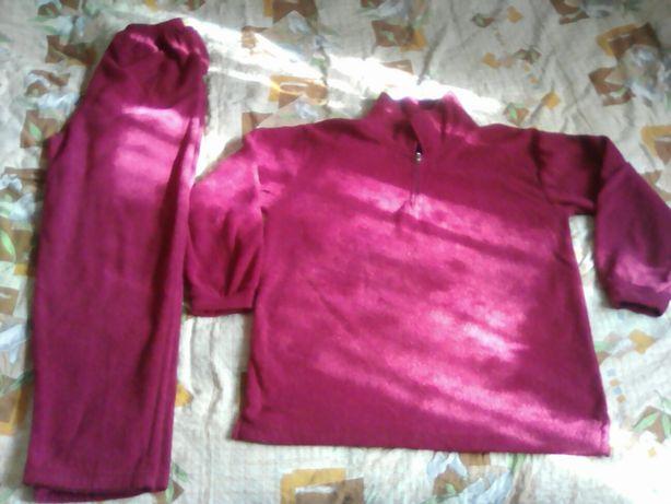 Теплая пижама или домашний костюм