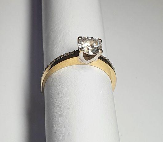 złoto - pierścionek 585 2,36g rozmiar 16