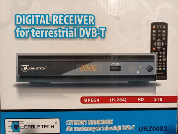 Odbiornik DVB-T Cabletech URZ00083