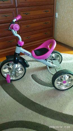 Велосипед дитячий трьох колісний