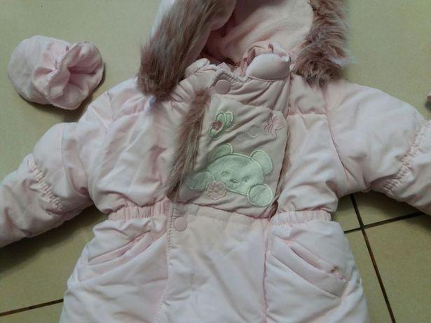 Kurtka zimowa, kurteczka dla dziewczynki
