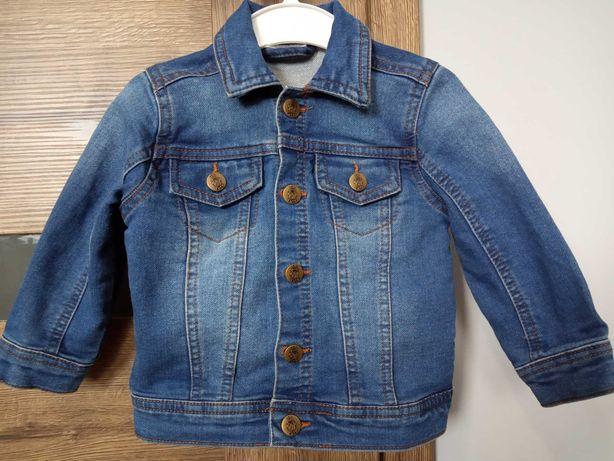 Katana jeansowa, szorty jeansowe, koszule Zara i inne 74/80